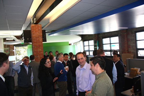 TVEyes Reception for Ribbon Cutting New HQ in Fairfield CT